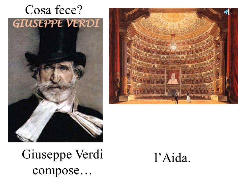 Cosa fece? Leonardo da Vinci dipinse… la Gioconda.