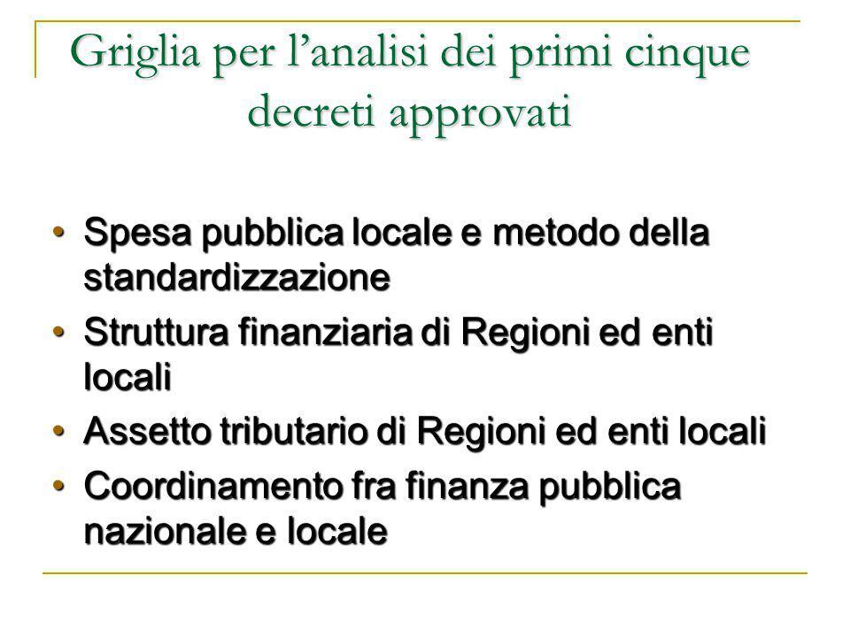 Interventi ordinari e interventi speciali 1 Interventi ordinari e interventi speciali nel campo delle infrastrutture: quale rapporto.