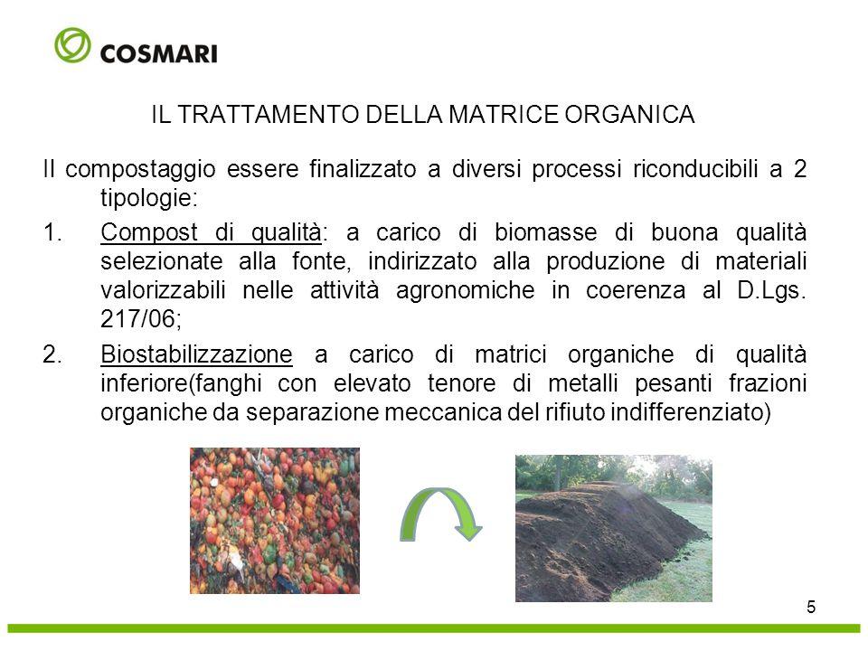 26 LA BIOSSIDAZIONE ACCELERATA Impianto con 2 gruppi modulari costituiti da 8 biocontainer scarrabili.