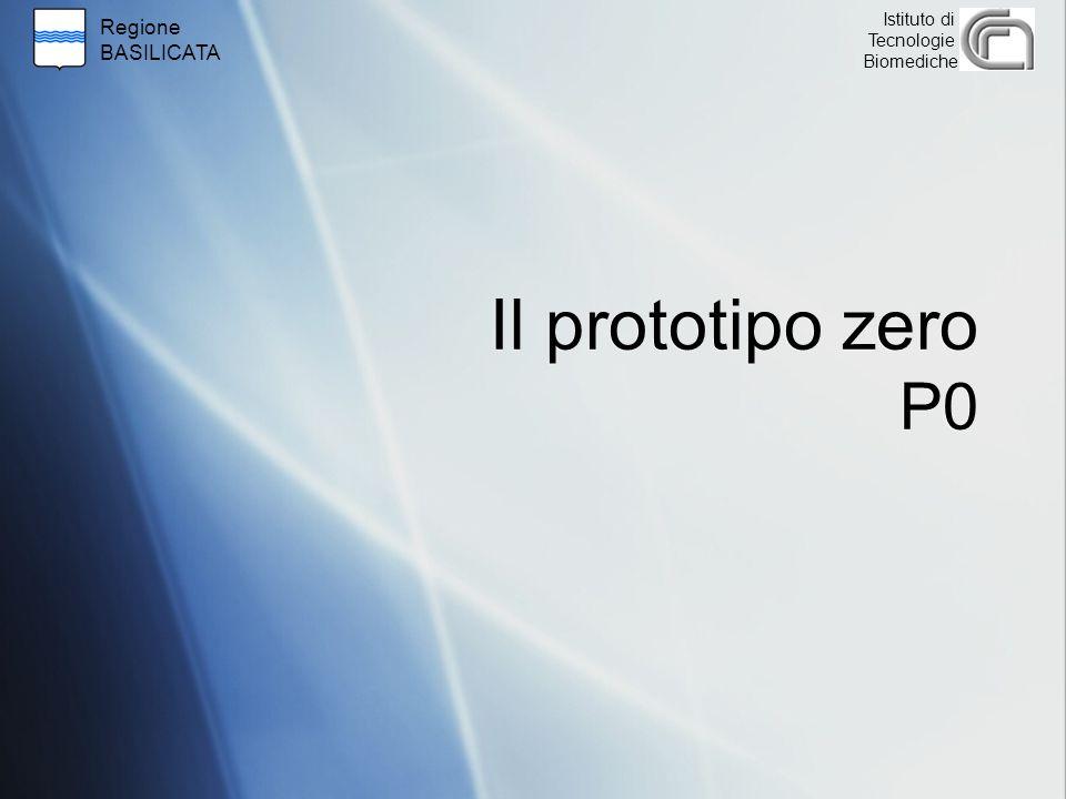 Regione BASILICATA Istituto di Tecnologie Biomediche Il prototipo zero P0