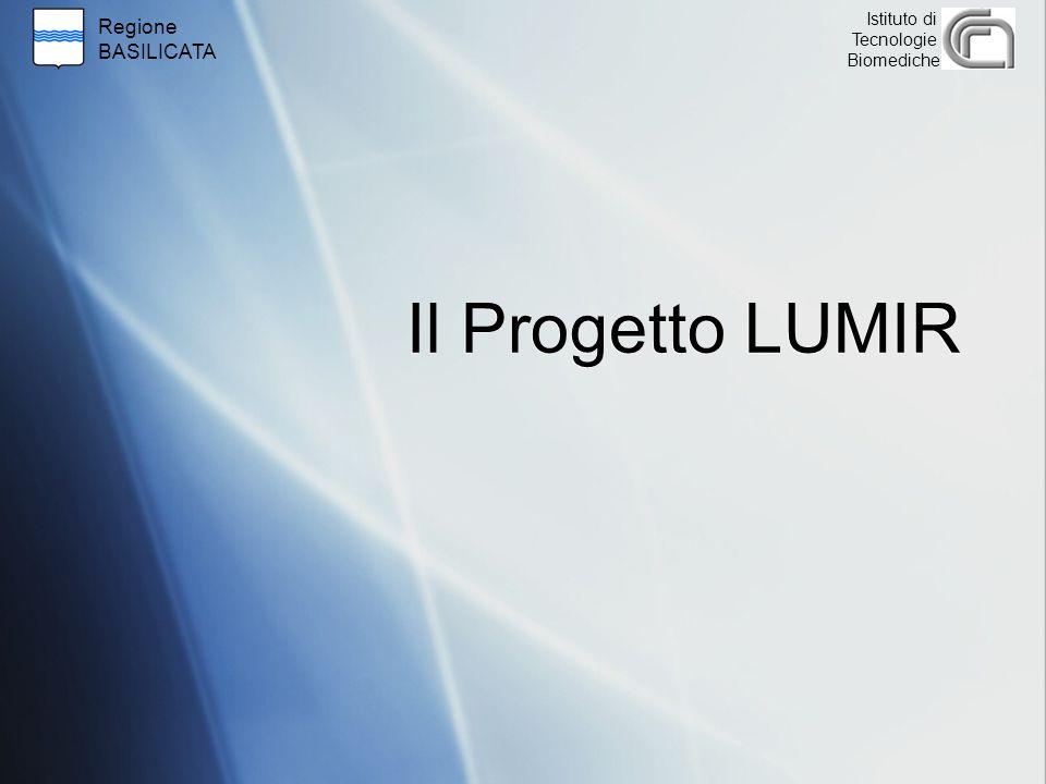 Regione BASILICATA Istituto di Tecnologie Biomediche Il Progetto LUMIR