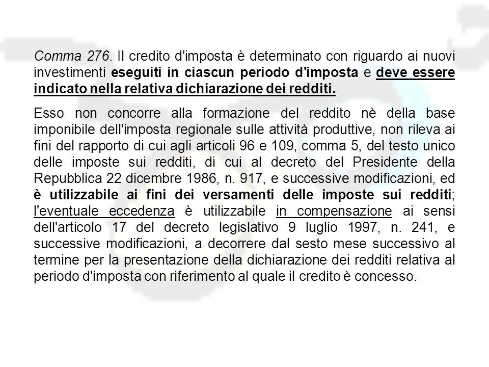 Le misure del DDL INDUSTRIA 2015 in Finanziaria 2007