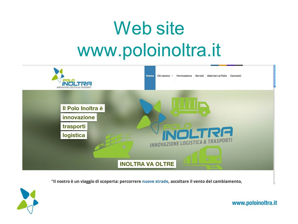Web site www.poloinoltra.it