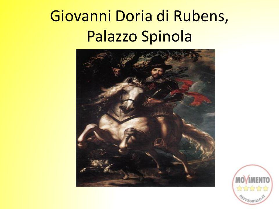 Giovanni Doria di Rubens, Palazzo Spinola