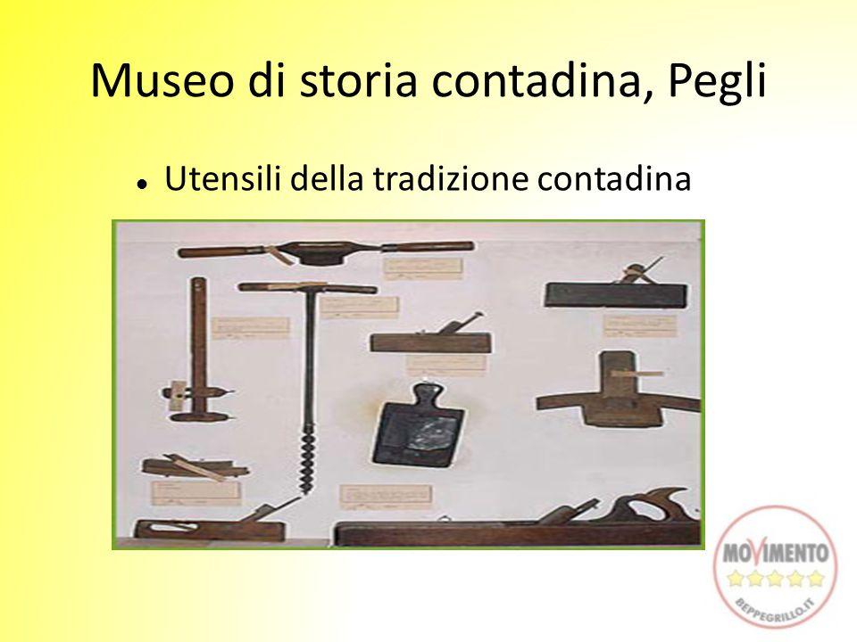Museo di storia contadina, Pegli Utensili della tradizione contadina