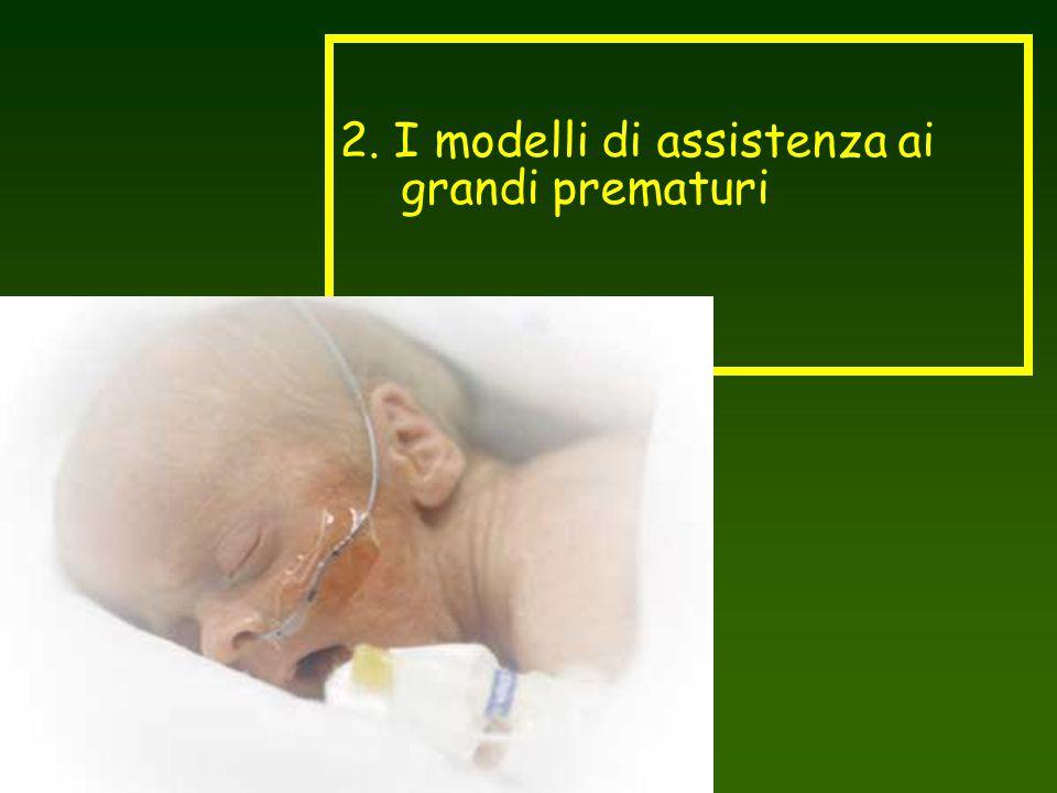 2. I modelli di assistenza ai grandi prematuri