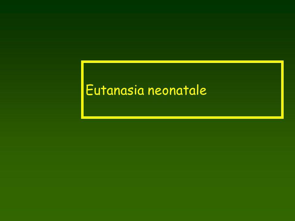 Eutanasia neonatale