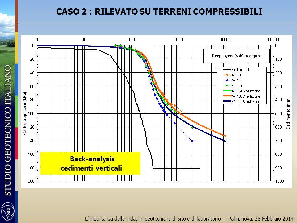 L'importanza delle indagini geotecniche di sito e di laboratorio - Palmanova, 28 Febbraio 2014 Maximum dam height: 63 m Total volume stored: 527x10 6 m 3 Storage rate:  17.5x10 6 m 3 / annum Area covered: 12.4 km 2 Total length of dam: 14.3 km Operation period: 1977 to 2042 Maximum dam height: 63 m Total volume stored: 527x10 6 m 3 Storage rate:  17.5x10 6 m 3 / annum Area covered: 12.4 km 2 Total length of dam: 14.3 km Operation period: 1977 to 2042 CASO 3 : ZELAZNY MOST - COPPER TAILINGS POND