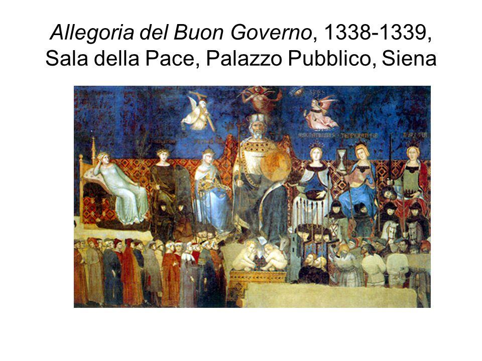 Allegoria del Buon Governo, 1338-1339, Sala della Pace, Palazzo Pubblico, Siena