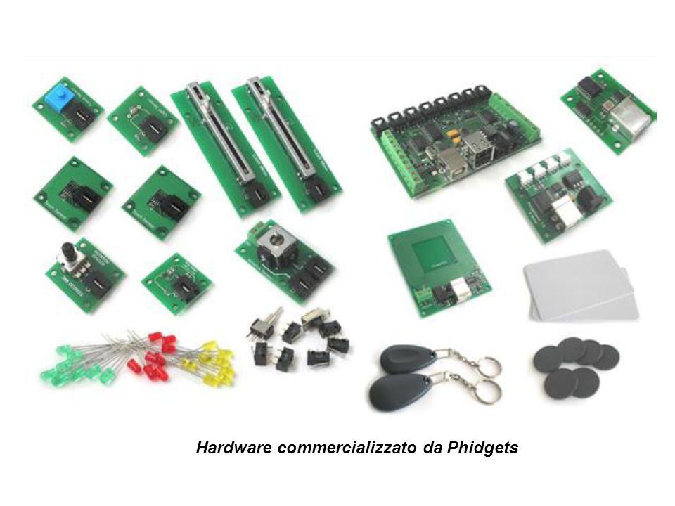 Hardware commercializzato da Phidgets