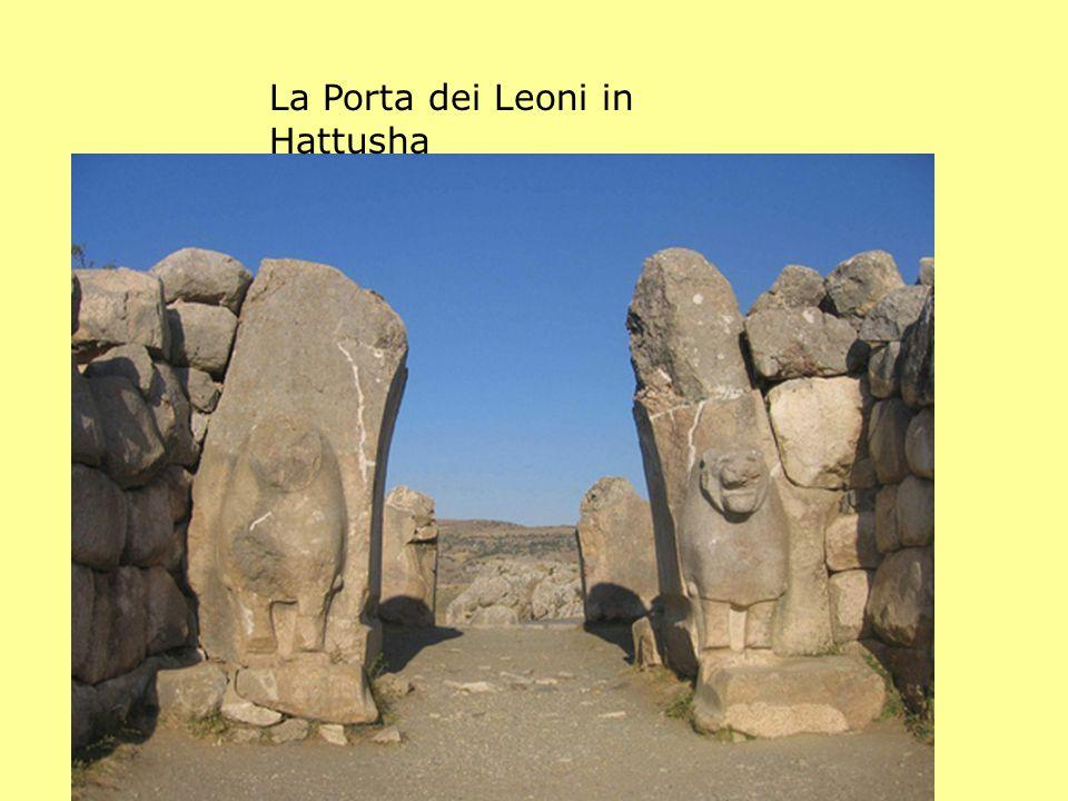 La Porta dei Leoni in Hattusha