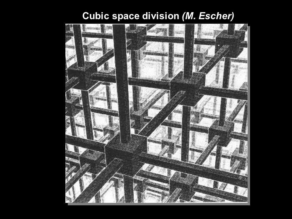 Cubic space division (M. Escher)