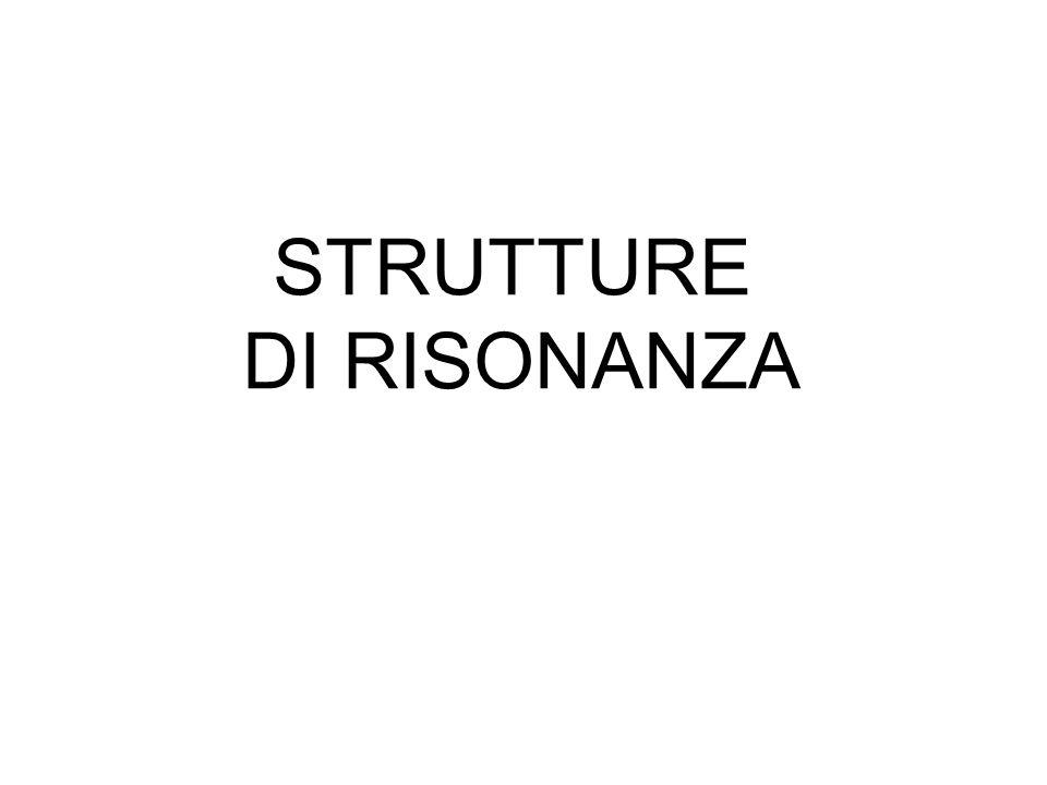 STRUTTURE DI RISONANZA
