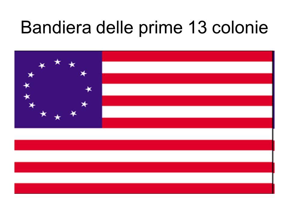 Bandiera delle prime 13 colonie