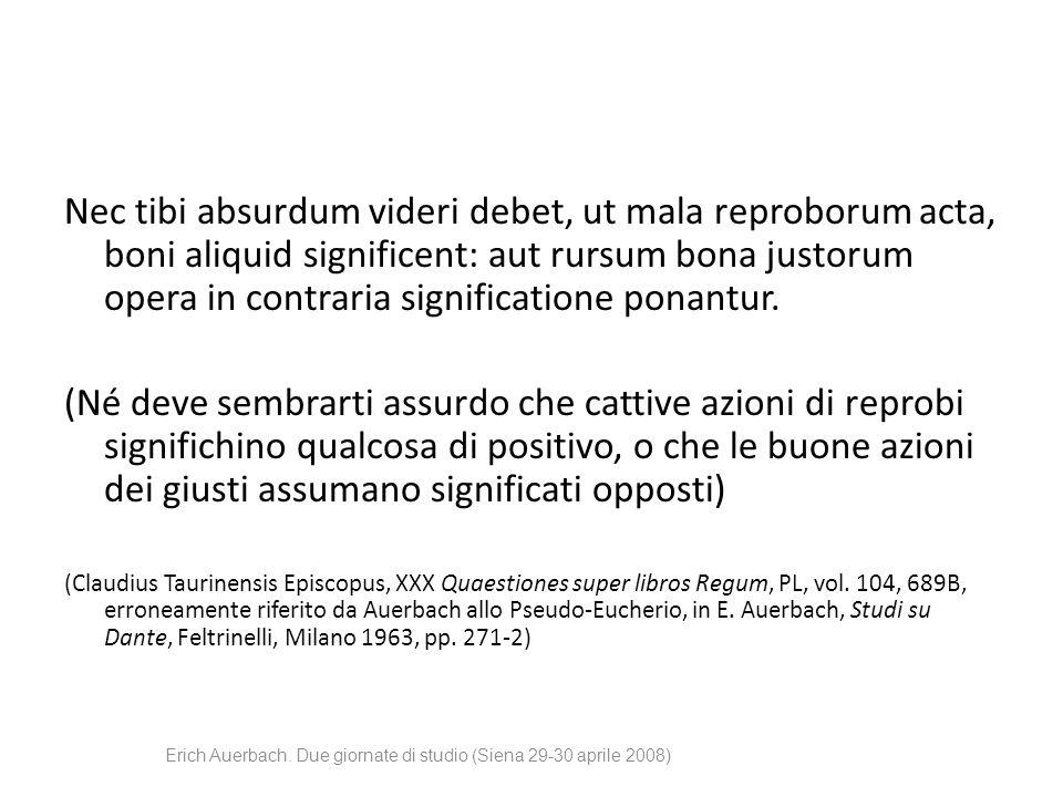 Erich Auerbach. Due giornate di studio (Siena 29-30 aprile 2008) Speculum humanae salvationis