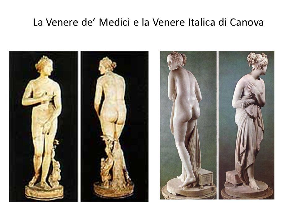 La Venere de' Medici e la Venere Italica di Canova