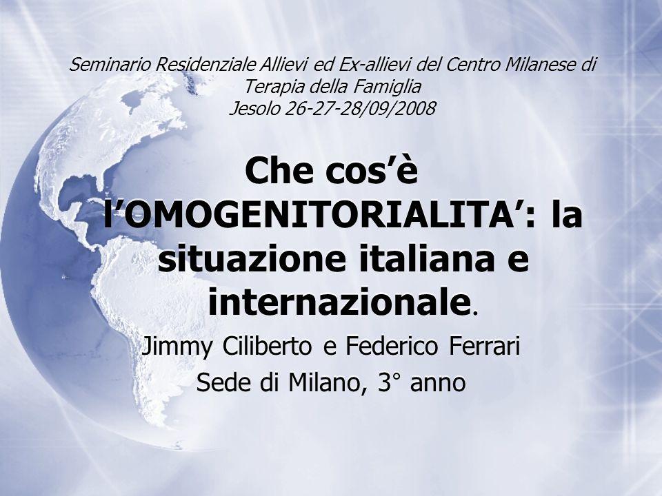 Che cos'è l'OMOGENITORIALITA': la situazione italiana e internazionale.