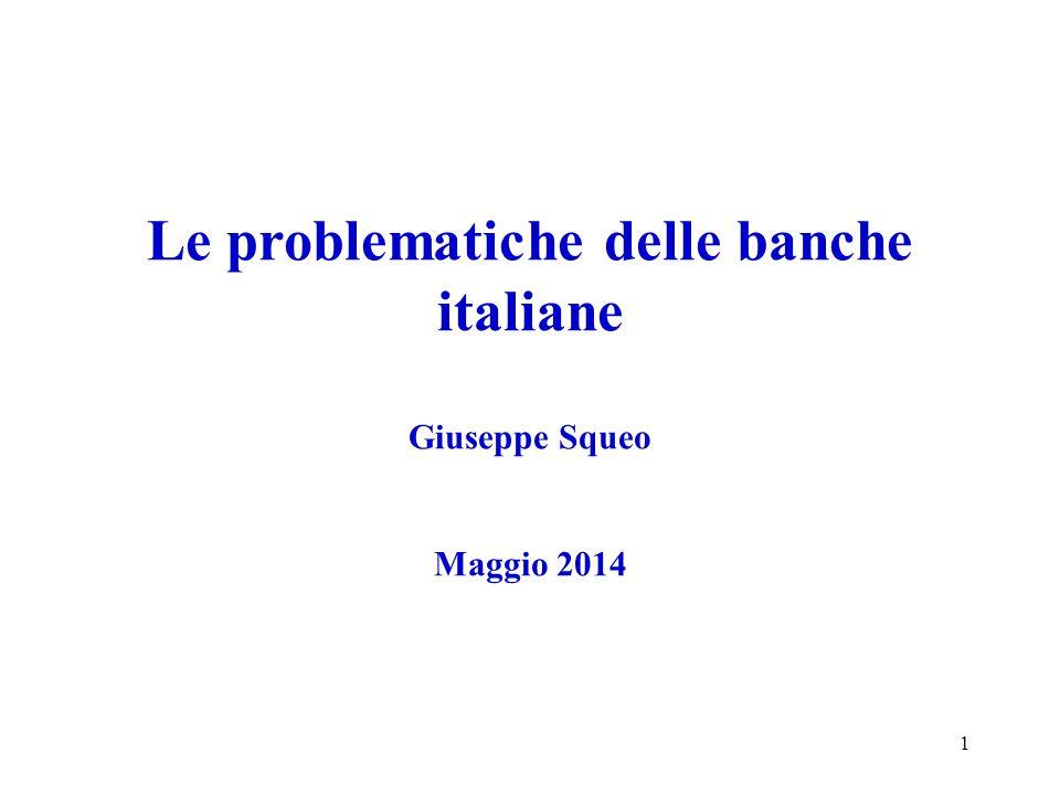 Il conto economico delle banche italiane 2