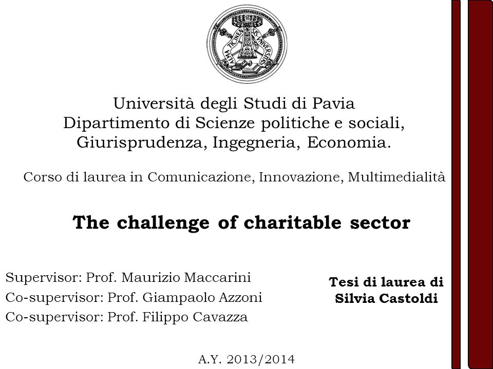 Supervisor: Prof.Maurizio Maccarini Co-supervisor: Prof.