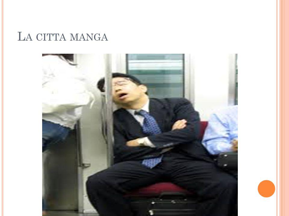 L A CITTA MANGA