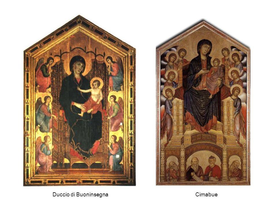 Duccio di BuoninsegnaCimabue