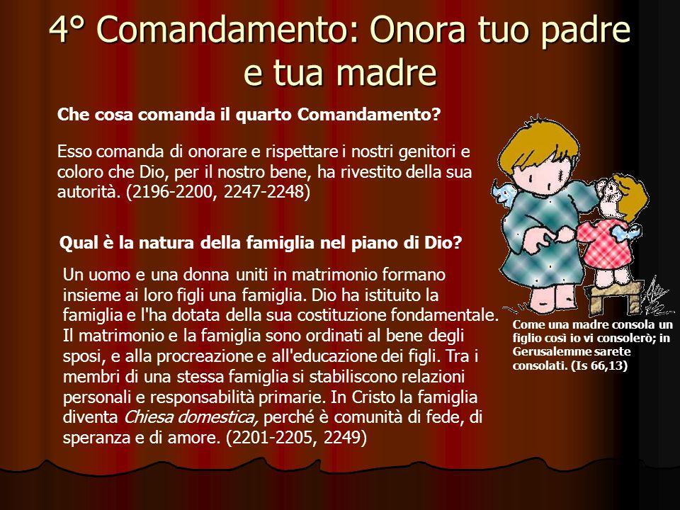 3° Comandamento: Ricordati di santificare le feste Per Riflettere … Dice il terzo comandamento: Ricordati del giorno di sabato per santificarlo (Esodo 20,8).
