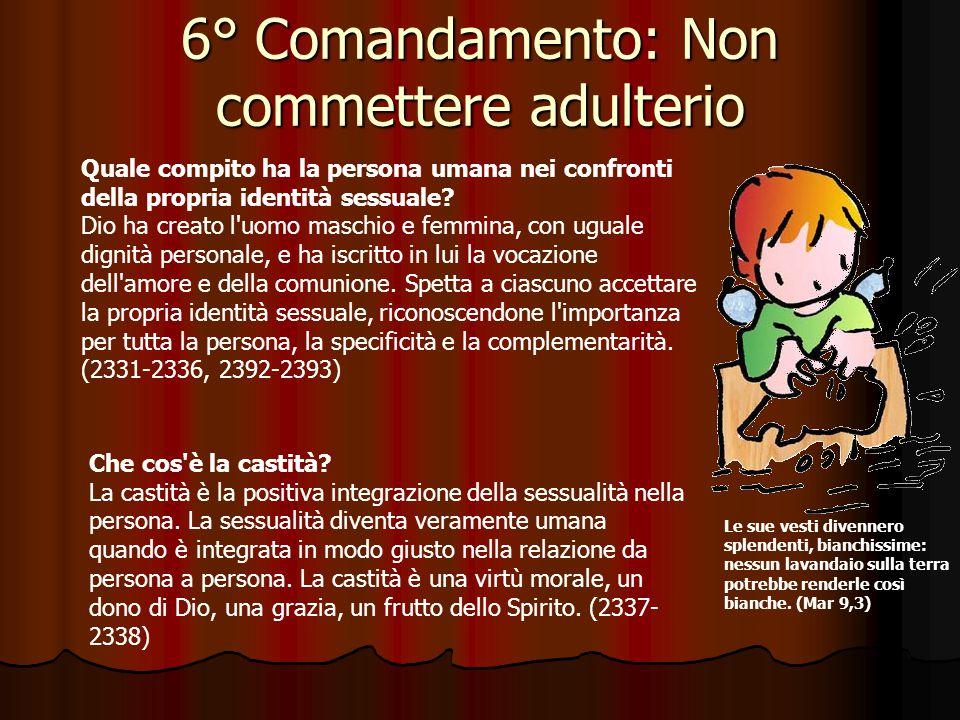 5° Comandamento: Non uccidere Per Riflettere … Dice il quinto comandamento: Non uccidere (Esodo 20,13).