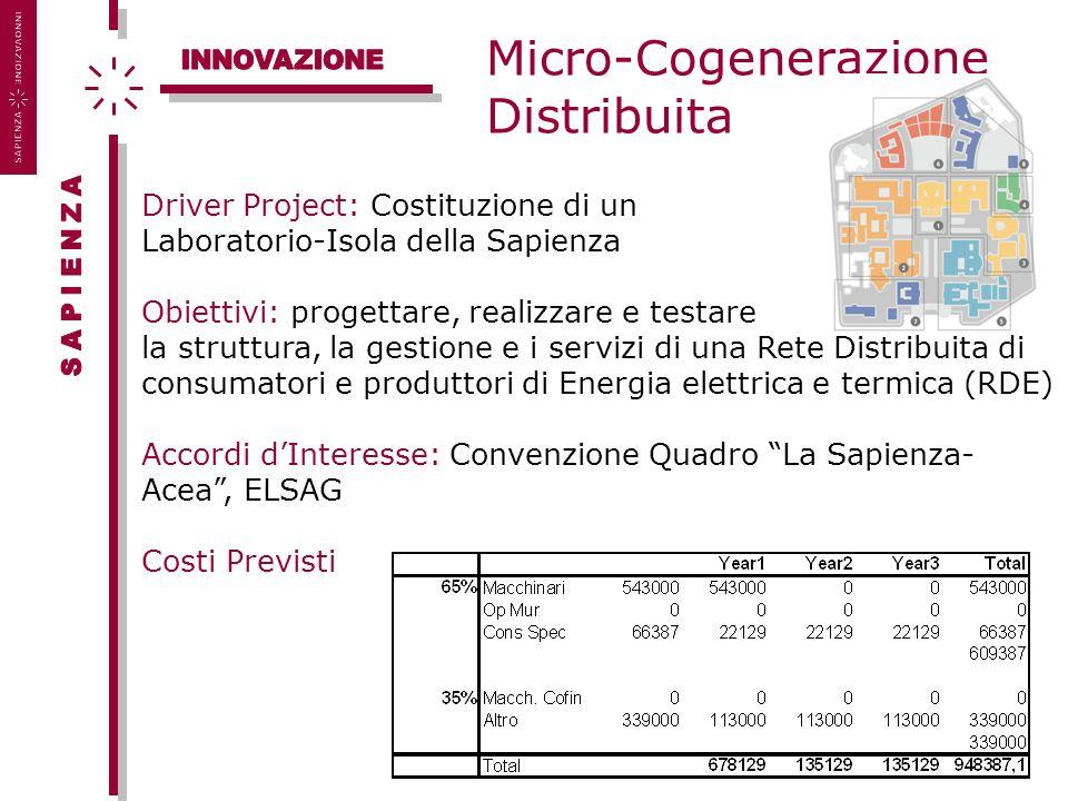 Micro-Cogenerazione Distribuita