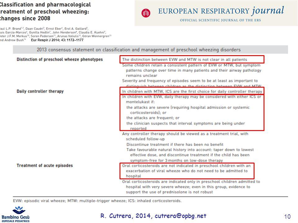 R. Cutrera, 2014, cutrera@opbg.net 10 Eur Respir J 2014; 43: 1172–1177