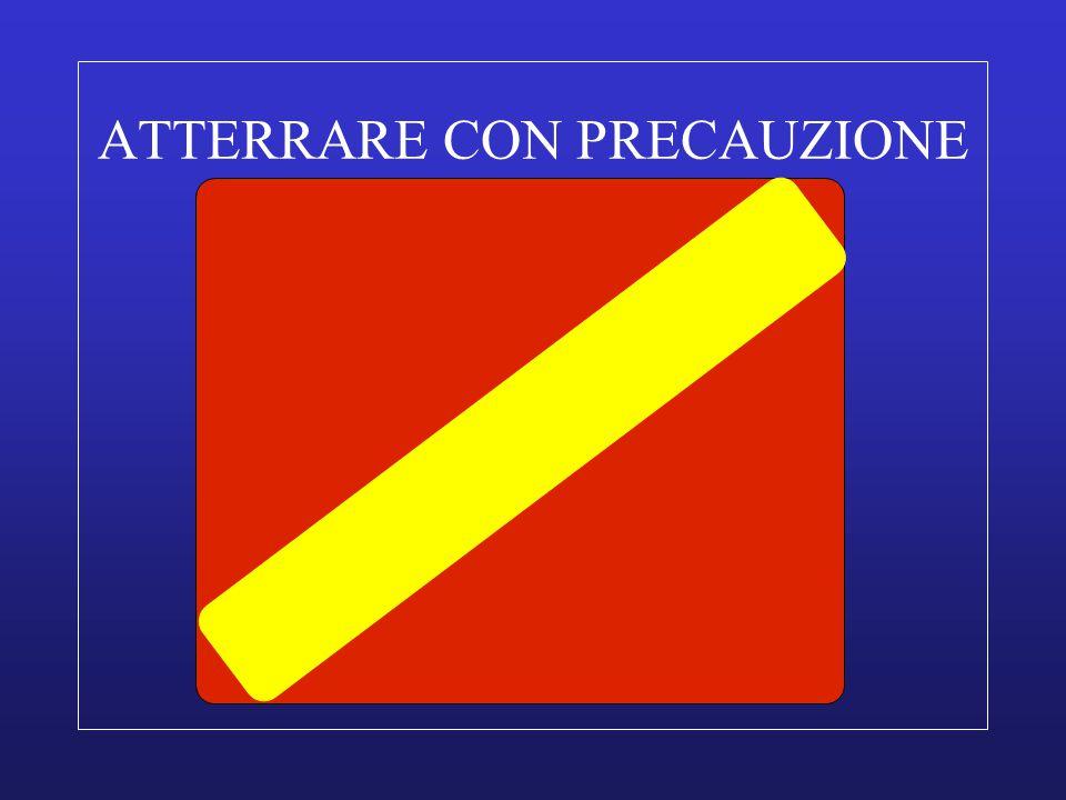 ATTERRARE CON PRECAUZIONE