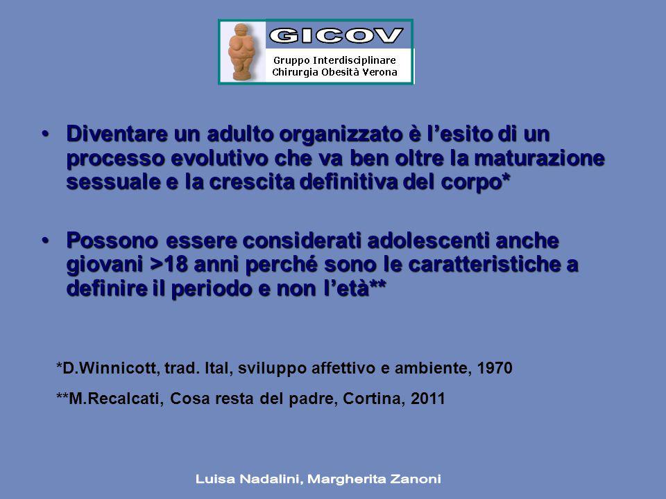 Diventare un adulto organizzato è l'esito di un processo evolutivo che va ben oltre la maturazione sessuale e la crescita definitiva del corpo*Diventa