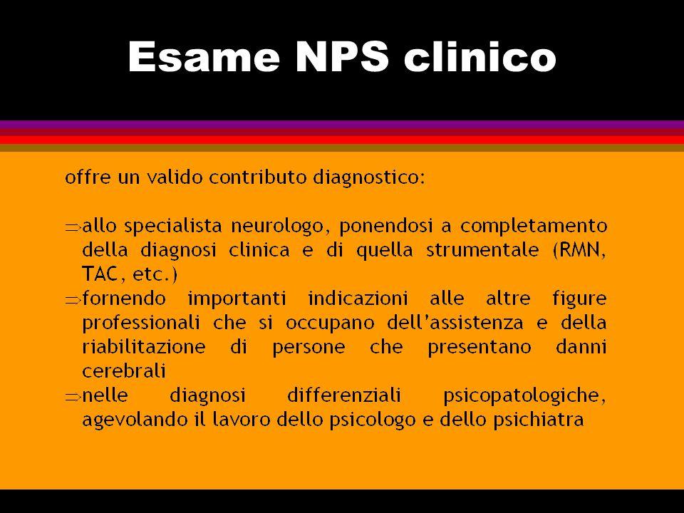 Finalità della valutazione NPS