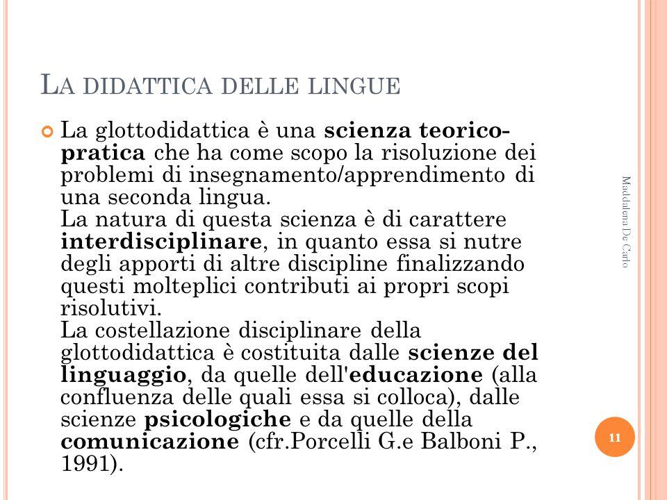 A MBITI DI INTERVENTO DELLA LA Aspetti comunicativi del linguaggio (lingua e diritto, lingua e politica, lingua e genere, le lingue dei segni, varietà