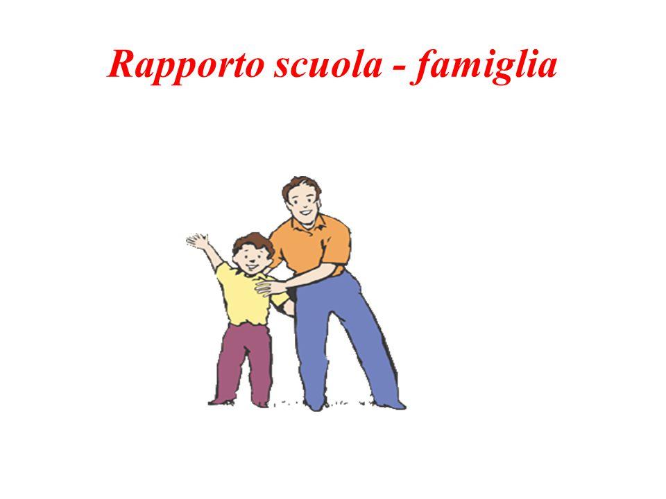 Rapporto scuola - famiglia