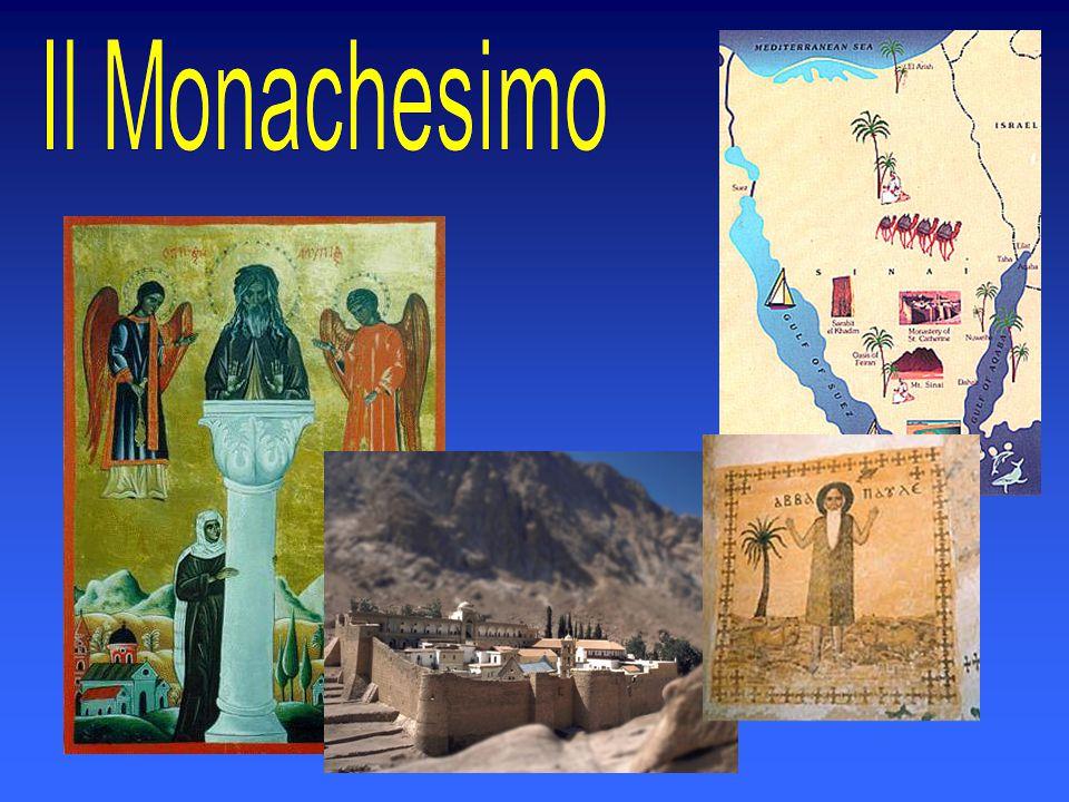Il monachesimo si diffuse in tutto l'oriente ma anche in occidente.