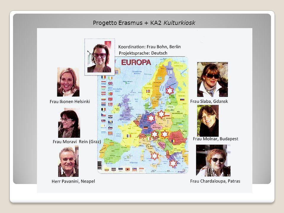 Progetto Erasmus + KA2 Kulturkiosk