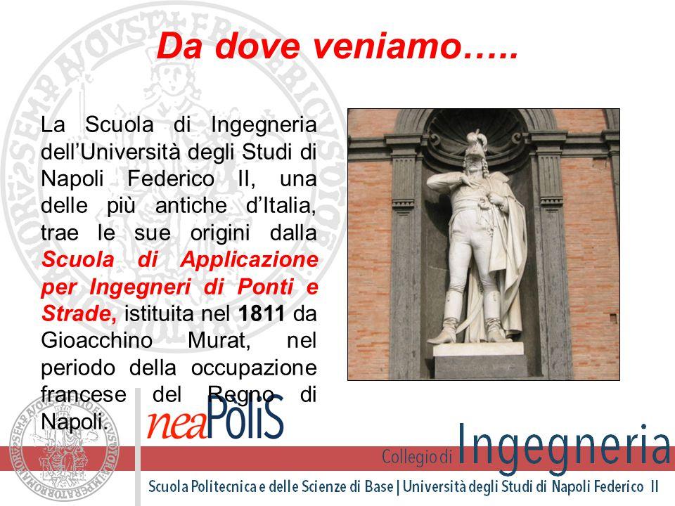 Da dove veniamo….. La Scuola di Ingegneria dell'Università degli Studi di Napoli Federico II, una delle più antiche d'Italia, trae le sue origini dall