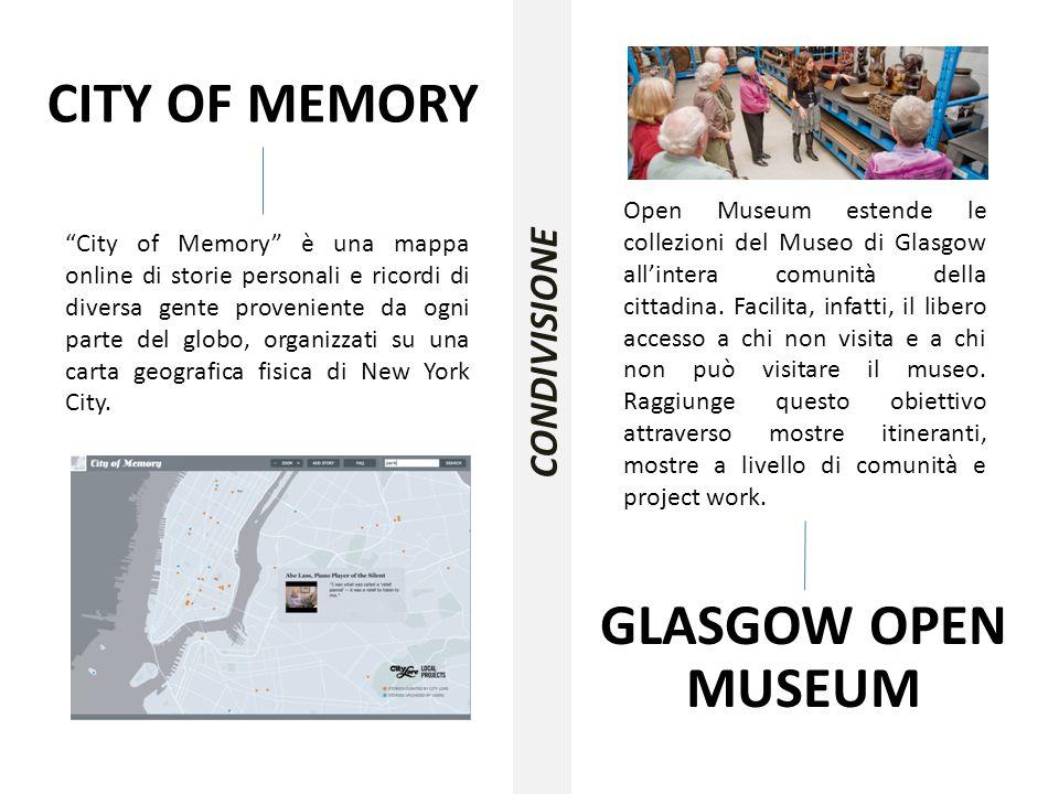 """CITY OF MEMORY """"City of Memory"""" è una mappa online di storie personali e ricordi di diversa gente proveniente da ogni parte del globo, organizzati su"""