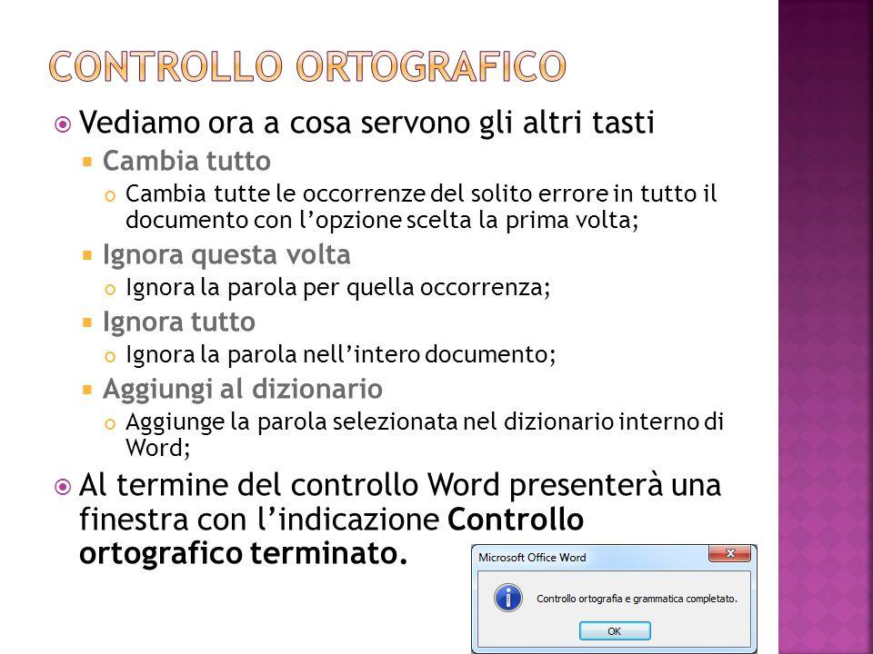  Prima di iniziare a lavorare con Word è opportuno impostare alcune opzioni di base del programma.