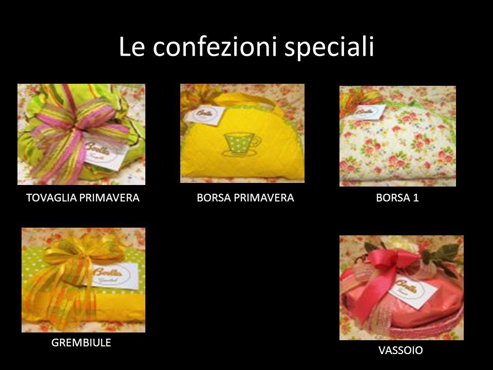 Le confezioni speciali TOVAGLIA PRIMAVERA BORSA PRIMAVERA BORSA 1 GREMBIULE VASSOIO