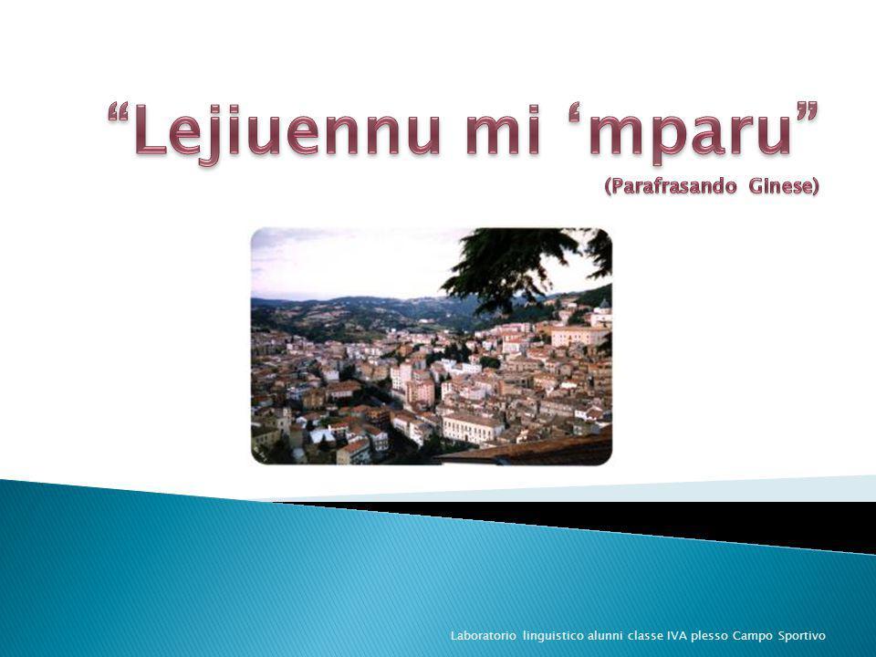 Laboratorio linguistico alunni classe IVA plesso Campo Sportivo