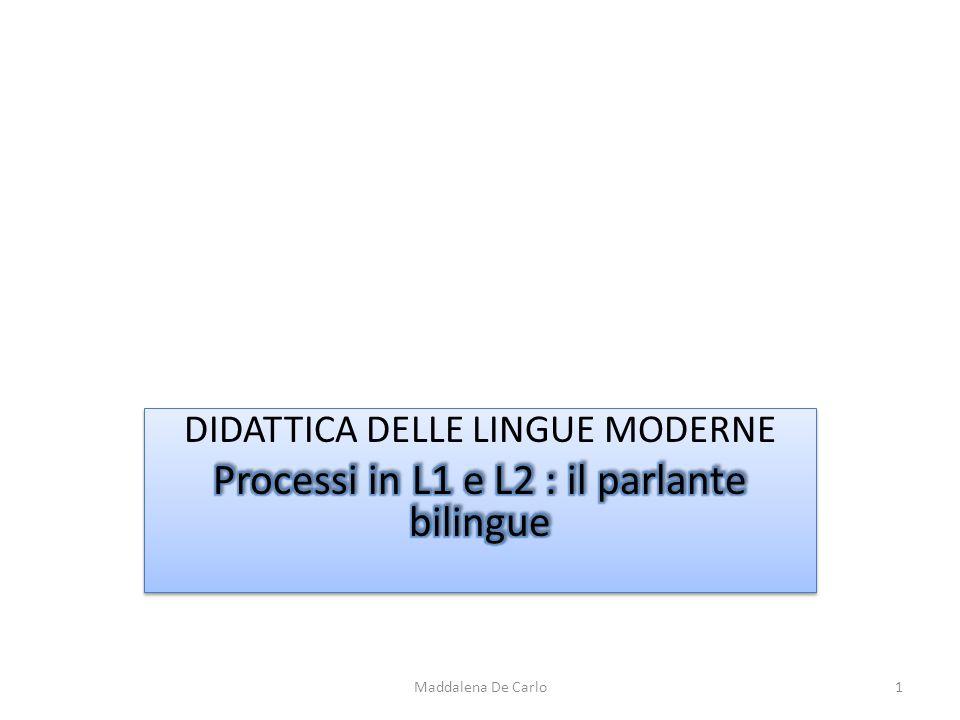 Maddalena De Carlo1