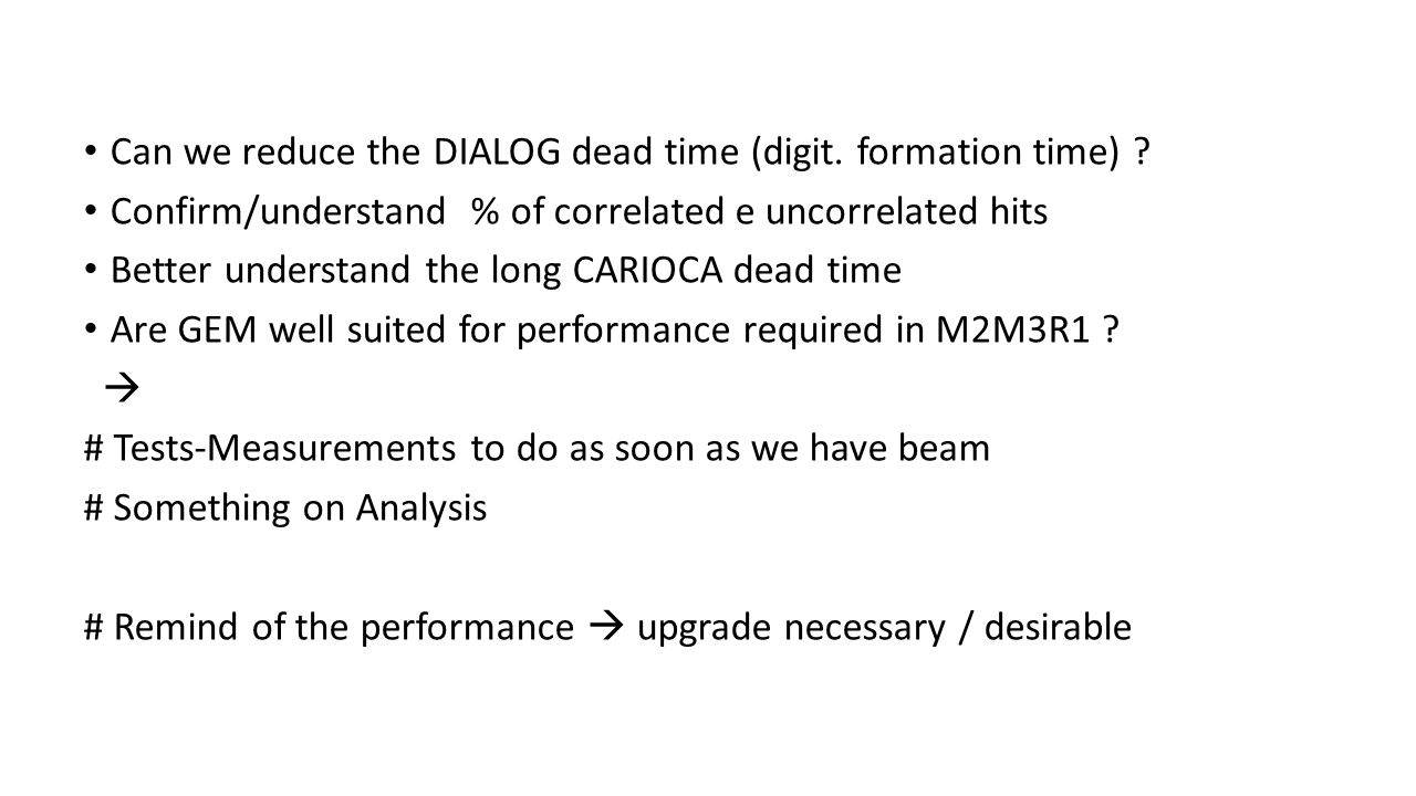Can we reduce the DIALOG dead time (digit. formation time) .