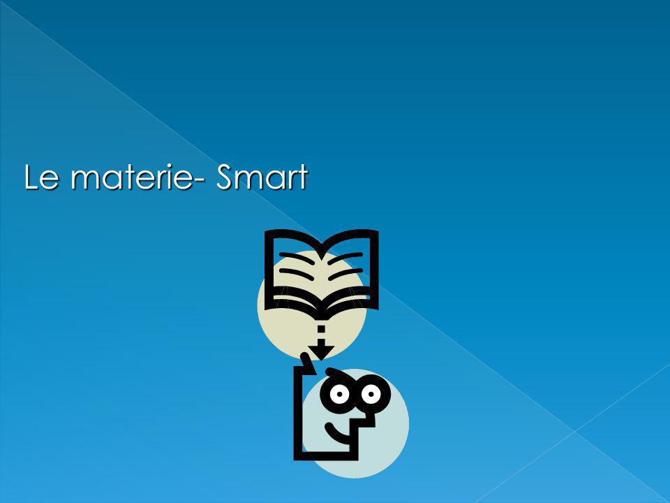 Le materie- Smart
