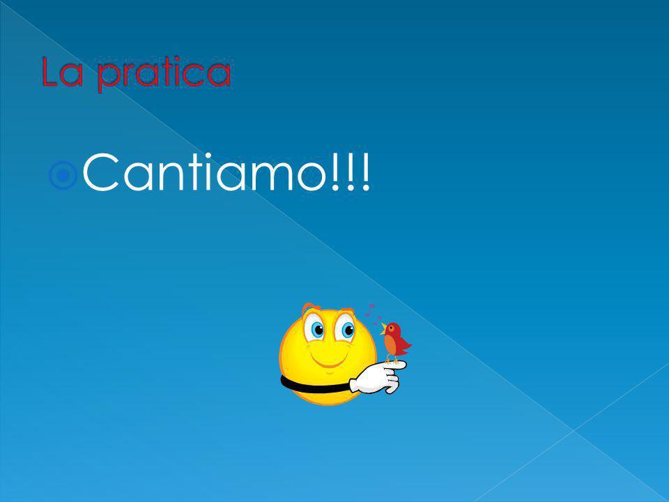  Cantiamo!!!