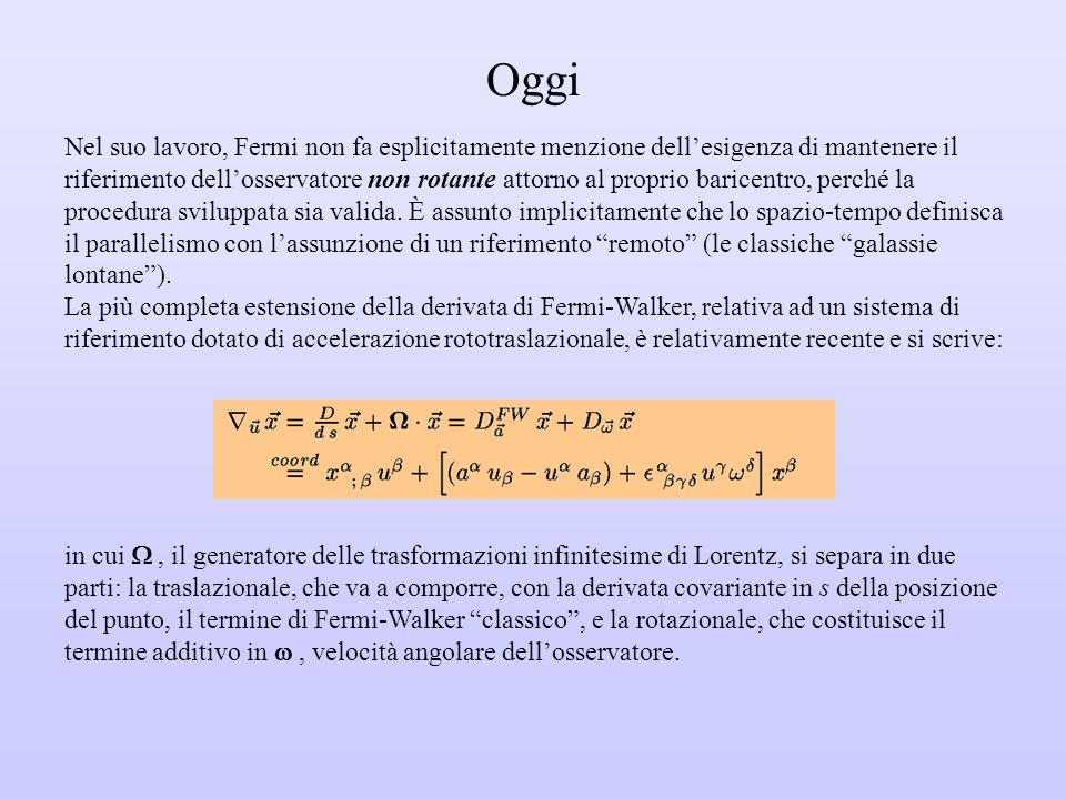 A.G. Walker: Relative Co-ordinates (luglio 1932) pp.