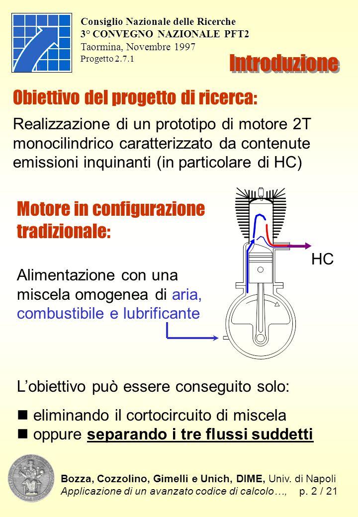 Introduzione Bozza, Cozzolino, Gimelli e Unich, DIME, Univ.