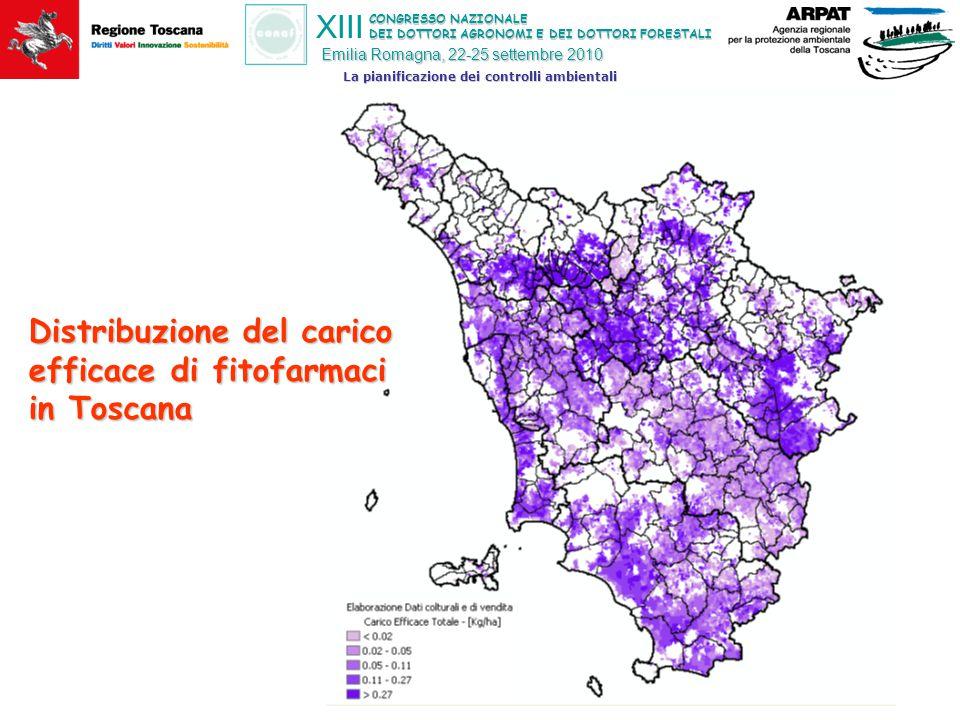 CONGRESSO NAZIONALE DEI DOTTORI AGRONOMI E DEI DOTTORI FORESTALI XIII Emilia Romagna, 22-25 settembre 2010 La pianificazione dei controlli ambientali