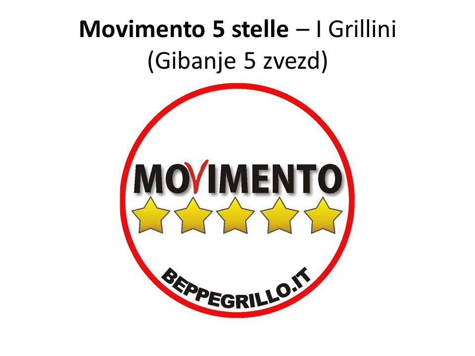 Movimento 5 stelle – I Grillini (Gibanje 5 zvezd)