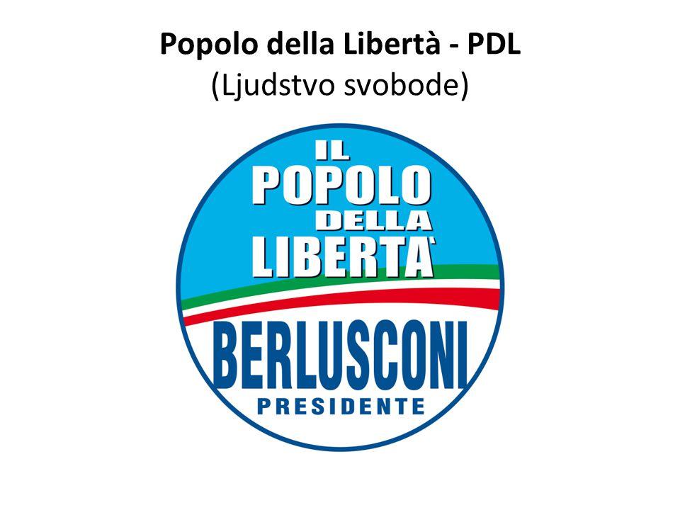 Popolo della Libertà - PDL (Ljudstvo svobode)